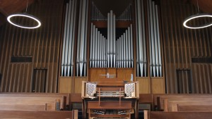 Organ located in the Frederic K. Miller Chapel