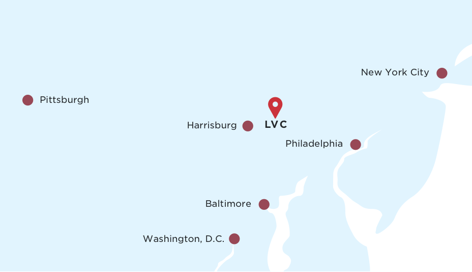 Lebanon Valley College Campus Map.Lebanon Valley College